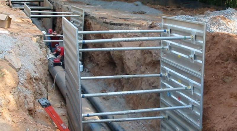 Equipment Trench Shoring Company