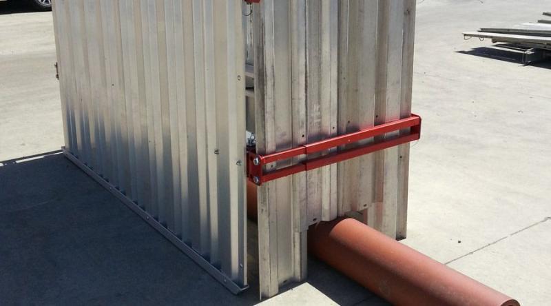 Aluminum Shoring Systems : Aluminum shields trench shoring company